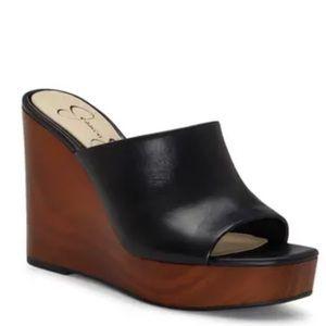 Jessica Simpson Shantelle Wedge Slide Sandal 8.5